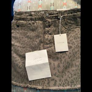 Kancan leopard skirt
